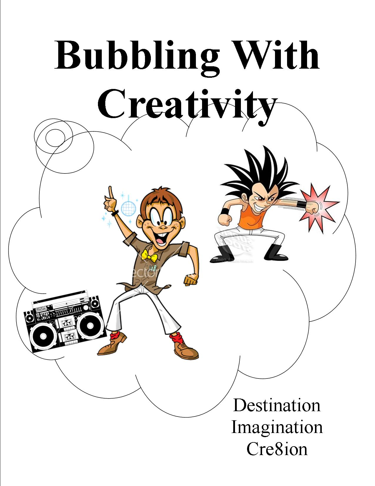 Design 5 - Bubbling With Creativity